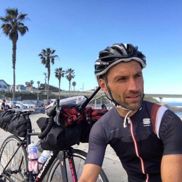 fabio rinaldi america bicicletta