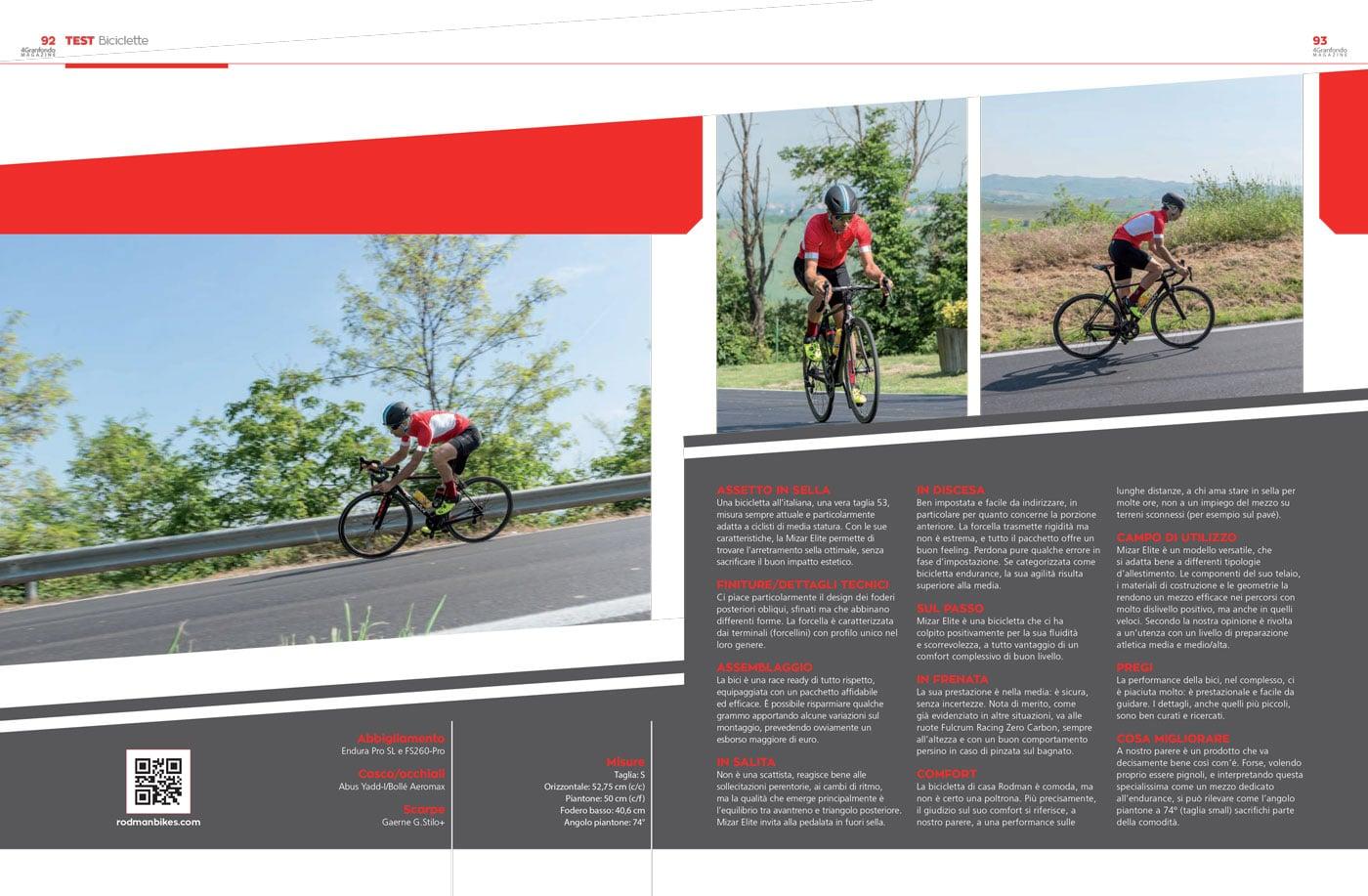 rodman granfondo bicicletta